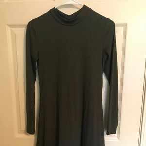 Love Fire Long Sleeve Olive Green dress Size Small